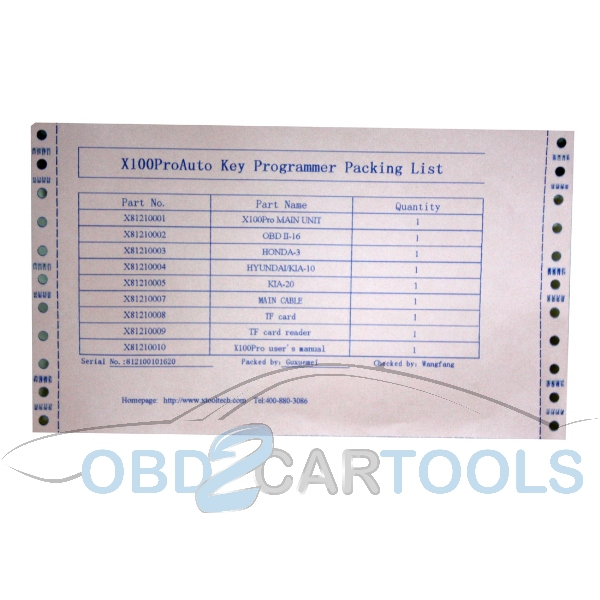 Xtool X-100Pro autokeyprogrammer-8