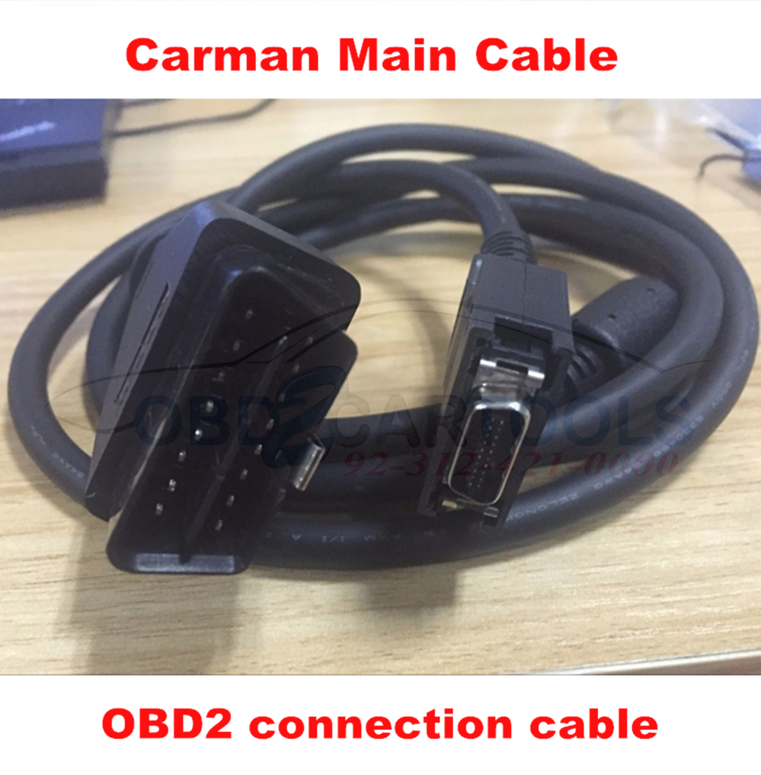 High Quality Carman Scan Lite Main Cable OBD2 cable