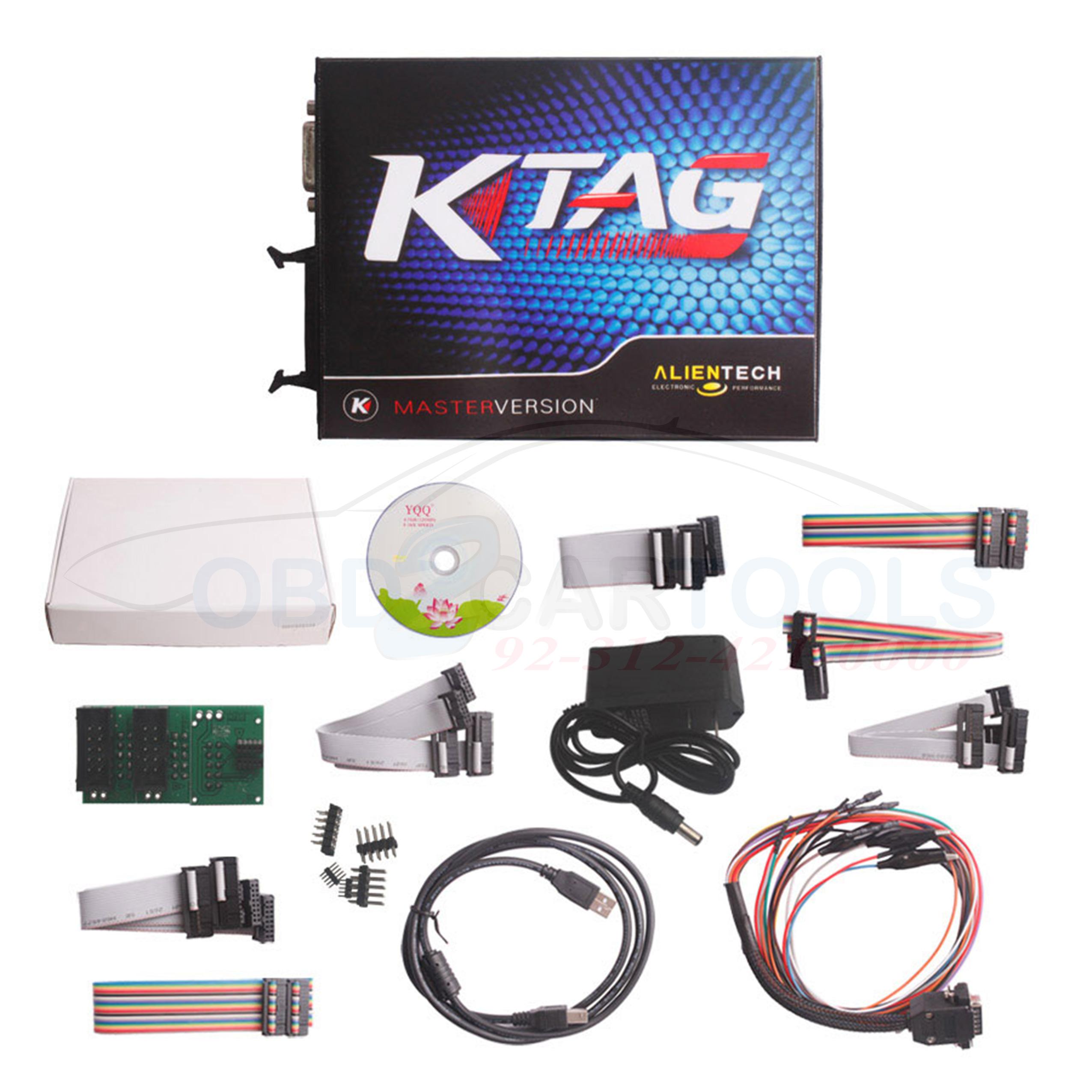 K-TAG V2 13 Firmware V6 070 ECU Programming Tool Master Version