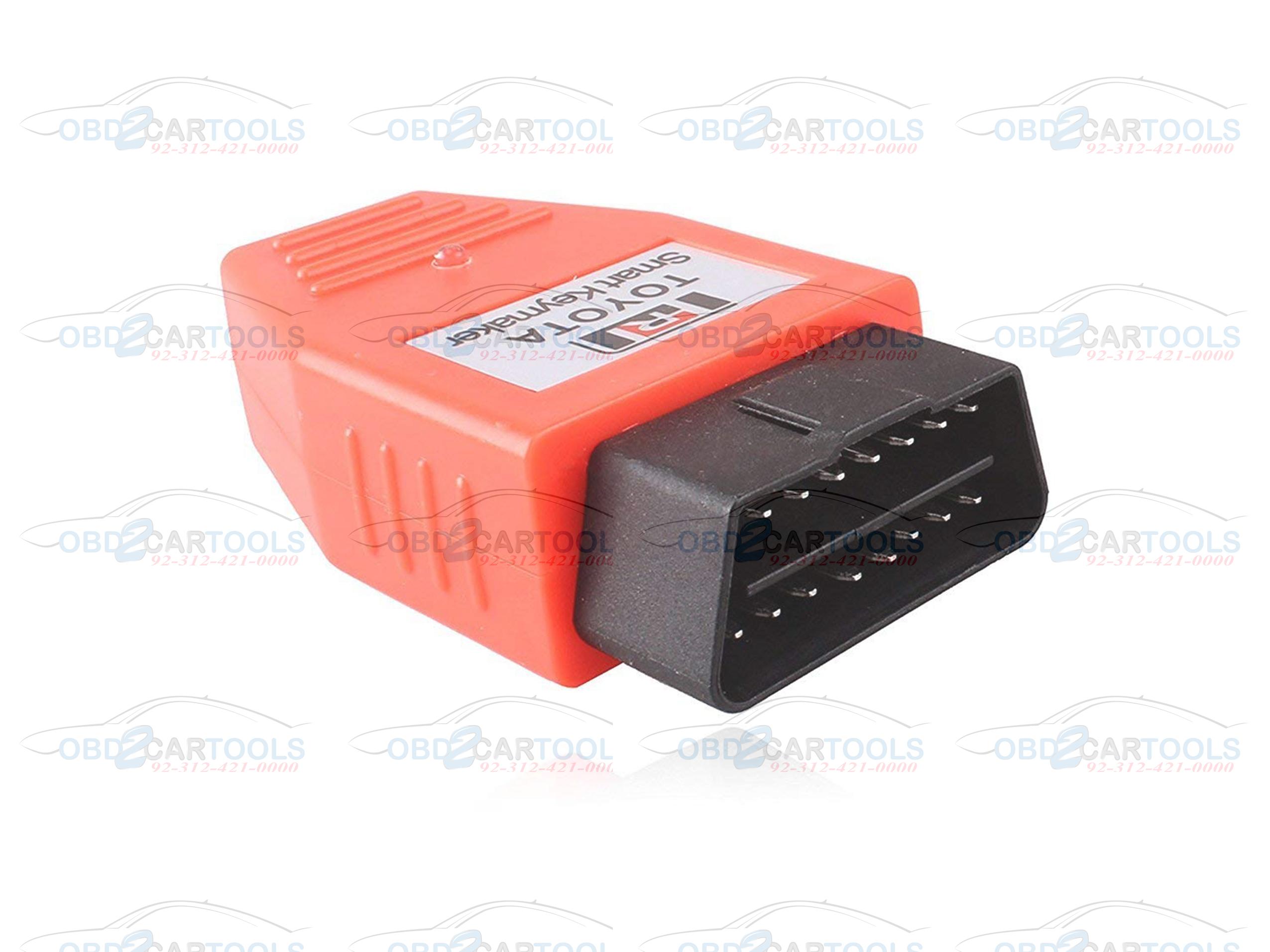 Toyota Smart Key Maker 4C 4D chip TRANSPONDER KEY PROGRAMMER VIA OBD2 PORT